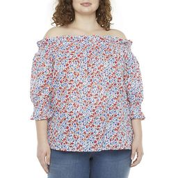 St. John's Bay-Plus Womens Off The Shoulder Blouse | JCPenney