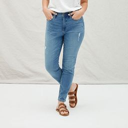a.n.a Womens High Rise Ripped Skinny Ankle Jean | JCPenney