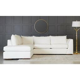 "Plainfield 115"" Wide Sofa & Chaise | Wayfair North America"