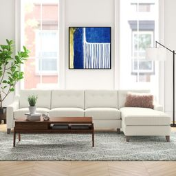 "113"" Wide Sofa & Chaise | Wayfair North America"