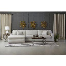 "Briarhill 136"" Wide Sofa & Chaise | Wayfair North America"