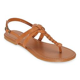 Arizona Womens Gibson Adjustable Strap Flat Sandals | JCPenney