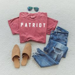 PATRIOT Shirt | American Patriot Tee | Unisex T Shirt | 4th of July | America Shirt | Conservativ... | Etsy (US)