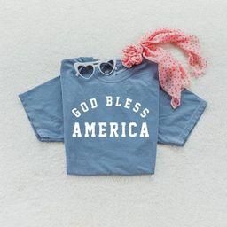 GOD BLESS AMERICA Shirt | Benjamin Franklin Quote | Unisex T Shirt | Liberty | America Shirt | Co... | Etsy (US)