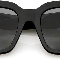 zeroUV - Oversized Fashion Retro Square Sunglasses for Women Vintage Style 50mm | Amazon (US)
