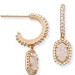 Kendra Scott Cale Hoop Earrings In Rose Gold   Amazon (US)