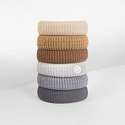GIMME Bands No Break Thick Hair Ties, 6PC. Available in eight different styles, also available a ... | Amazon (US)