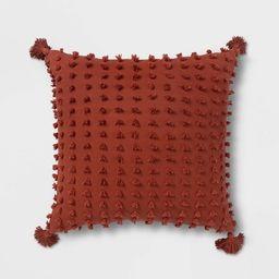 Euro Clipped Tassel Decorative Throw Pillow - Opalhouse™ | Target