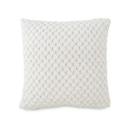 """Southern Tide Dory Lane 16"""" Square Ivory Decorative Pillow 