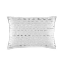 "Southern Tide Harbor Mist 12""W x 18""L Pickstitch Decorative Pillow | WestPoint Home"