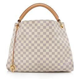 Louis Vuitton Damier Azur Artsy MM Shoulder Bag | Bag Borrow or Steal