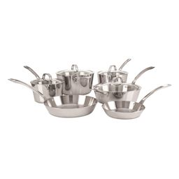 Contemporary 10-Piece 3-Ply Cookware Set   Nordstrom