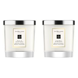 Peony & Blush Suede and Lime Basil & Mandarin Scented Home Candle Set   Nordstrom   Nordstrom