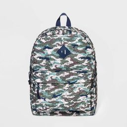 Boys' Quilted Camo Backpack - Cat & Jack™ Green | Target
