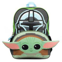 "Star Wars The Mandalorian Baby Yoda 16"" Kids' Backpack | Target"