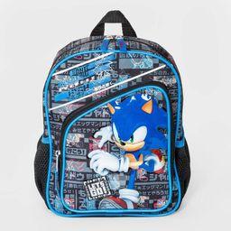 Kids' Sonic the Hedgehog Mini Backpack - Black | Target