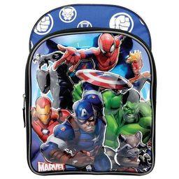 """Marvel Universe 6D Molded 16"""" Kids' Deluxe Backpack - Blue   Target"""