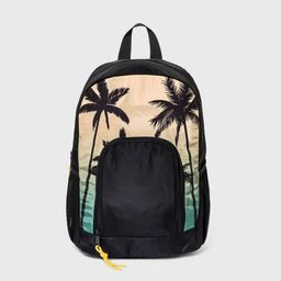 Boys' Printed Palm Tree Backpack - art class™ Black   Target