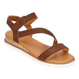 a.n.a Womens University Ankle Strap Flat Sandals | JCPenney