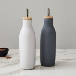 Kaloh Oil & Vinegar Stoneware Containers (Set of 2) | West Elm (US)