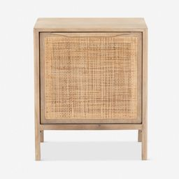 Hannah Right-Side Nightstand, Natural | Lulu and Georgia