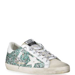 Super Star Multicolor Glitter Low-Top Sneakers   Neiman Marcus