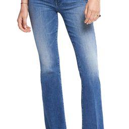 Fray Hem Bootcut Jeans   Nordstrom