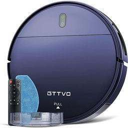 Robot Vacuum and Mop, GTTVO Robotic Vacuum Cleaner, 2 in 1 Mopping Robot Vacuum Cleaner with 1400...   Amazon (US)