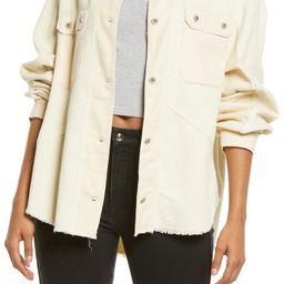 Frayed Corduroy Shirt Jacket | Nordstrom | Nordstrom