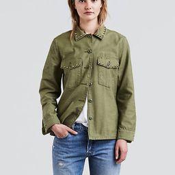 Levi's Army Shirt Jacket - Women's L | LEVI'S (US)