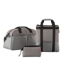 reisenthel Overnight Duffle Canvas Grey | The Container Store