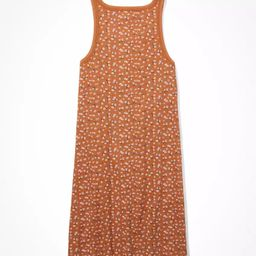 AE Waffle Scoop Neck Bodycon Mini Dress   American Eagle Outfitters (US & CA)