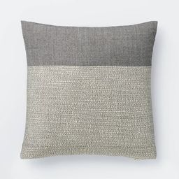 Color Block Throw Pillow - Threshold™ designed with Studio McGee | Target