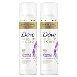 Dove Dry Shampoo for Oily Hair Volume & Fullness for Refreshed Hair 5 oz 2 Count   Amazon (US)