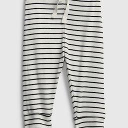 Baby 100% Organic Cotton Stripe Pull-On Pants | Gap (US)