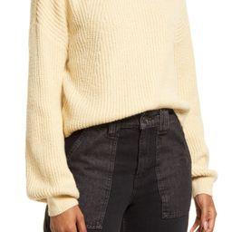 Rib Crewneck Sweater   Nordstrom