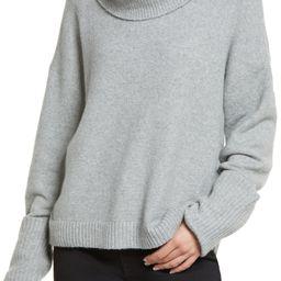 Women's Drape Turtleneck Sweater   Nordstrom