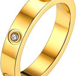 FOCALOOK Ehering Partnerring für Damen Herren 4mm/6mm breit personalisiert Verlobungsring Antrag...   Amazon (DE)