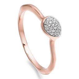Siren Small Pavé Diamond Stacking Ring | Nordstrom