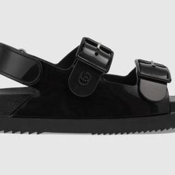 Women's sandal with mini DoubleG | Gucci (US)