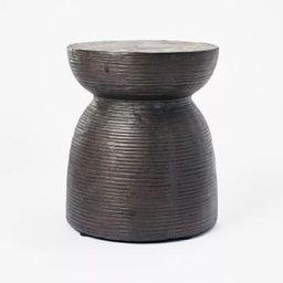 Grantsville Drum Accent Table Black - Threshold™ designed with Studio McGee | Target