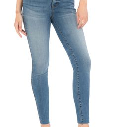 Donna Fab Ab High Waist Raw Hem Ankle Skinny Jeans | Nordstrom