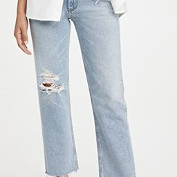 Daphne Crop High Rise Stovepipe Jeans   Shopbop
