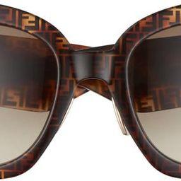 52mm Gradient Square Sunglasses   Nordstrom