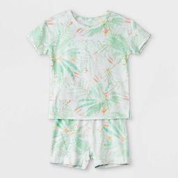 Toddler Boys' 2pc Palms T-Shirt & Shorts Set - art class™ Teal | Target