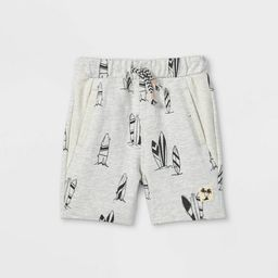 Toddler Boys' Surfboard Pull-On Shorts - art class™ Gray | Target