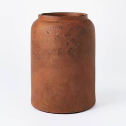 "11"" x 8"" Rustic Vase Brown - Threshold™ designed with Studio McGee   Target"