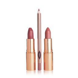 Pinkfarbenes Lippenstiftset: Pretty Pink Lip Duo   Charlotte Tilbury   Charlotte Tilbury (DE)