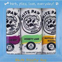 White Paw 3-Piece Variety Pack Plush Dog Toy Set | Nordstrom
