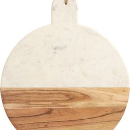 at Home Round Marble & Acacia Wood Serving Board | Nordstrom